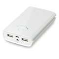 Original Yoobao Mobile Power Backup Battery Charger 7800mAh for iPhone 5S - White