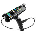 JWD USB Car Charger Universal Car Bracket Support Stand for Samsung GALAXY S4 I9500 SIV - Black