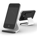 Micro-suction Universal Bracket Phone Holder for Samsung GALAXY S4 I9500 SIV - White