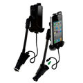 JWD USB Car Charger Universal Car Bracket Support Holder for Sony Ericsson S39h Xperia C - Black