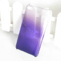 Gradient Purple Silicone Hard Cases Covers For iPhone 5C