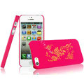IMAK Gold and Silver Series Ultrathin Matte Color Covers Hard Cases for iPhone 5C - Rose