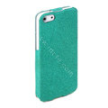ROCK Eternal Series Flip leather Cases Holster Covers for iPhone 5C - Green