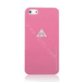 ROCK Naked Shell Cases Hard Back Covers for iPhone 5C - Rose