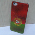 Retro Portugal flag Hard Back Cases Covers Skin for iPhone 5C