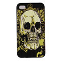 Skull Hard Back Cases Covers Skin for iPhone 5C - Green