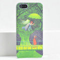 Ultrathin Matte Cases Lovers Hard Back Covers Skin for iPhone 5C - Green