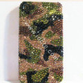 Bling S-warovski crystal cases diamond covers for iPhone 5S - Green