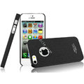 IMAK Cowboy Shell Quicksand Hard Cases Covers for iPhone 5S - Black