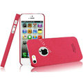 IMAK Cowboy Shell Quicksand Hard Cases Covers for iPhone 5S - Rose