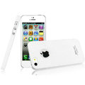 IMAK Cowboy Shell Quicksand Hard Cases Covers for iPhone 5S - White