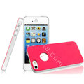 IMAK Matte double Color Cover Hard Case for iPhone 5S - Rose