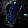 Nillkin Dynamic Color Hard Cases Skin Covers for iPhone 5S - Black