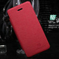 Nillkin England Retro Leather Case Covers for iPhone 5S - Red