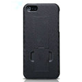 Nillkin Lozenge Hard Cases Skin Covers for iPhone 5S - Black