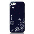 Nillkin Platinum Elegant Hard Cases Skin Covers for iPhone 5S - Douban Flower Blue