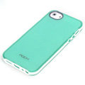 ROCK Joyful free Series Leather Cases Holster Covers for iPhone 5S - Green