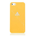 ROCK Naked Shell Cases Hard Back Covers for iPhone 5S - Orange