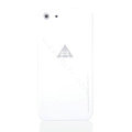ROCK Naked Shell Cases Hard Back Covers for iPhone 5S - White