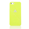 ROCK Naked Shell Cases Hard Back Covers for iPhone 5S - Yellow