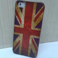 Retro United Kingdom of Britain flag Hard Back Cases Covers Skin for iPhone 5S