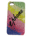 S-warovski Bling crystal Cases Luxury diamond covers for iPhone 5S - Color