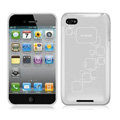 iPEARL Silicone Cases Covers for iPhone 5S - Gray
