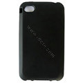 s-mak Color covers Silicone Cases For iPhone 5S - Black