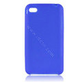 s-mak Color covers Silicone Cases For iPhone 5S - Blue