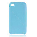 s-mak Color covers Silicone Cases skin For iPhone 5S - Blue
