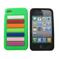 s-mak Rainbow Silicone Cases covers for iPhone 5S