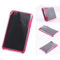 s-mak soft hard cases covers for iPhone 5S - Red