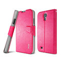 IMAK R64 lines leather Case support Holster Cover for Samsung GALAXY NoteIII 3 - Rose