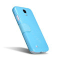 Nillkin Fresh leather Case button Holster Cover Skin for Samsung GALAXY NoteIII 3 - Blue