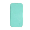 Nillkin Fresh leather Case button Holster Cover Skin for Samsung GALAXY NoteIII 3 - Green