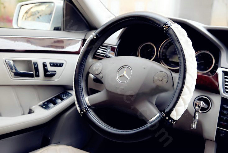 how to find the diamater of an auto steering wheel
