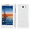 IMAK Crystal Case Hard Cover Transparent Shell for Coolpad 5950 - White