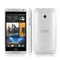 IMAK Crystal Case Hard Cover Transparent Shell for HTC 601E ONE Mini M4 - White