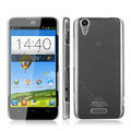 IMAK Crystal Case Hard Cover Transparent Shell for ZTE V975 Geek - White