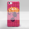Nillkin Elephant Drawing Color Cover Hard Case Skin for Apple iPhone 5C - Red