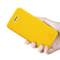 Nillkin Fresh Flip leather Case book Holster Cover Skin for Apple iPhone 5C - Yellow