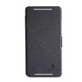 Nillkin Fresh Flip leather Case book Holster Cover Skin for HTC 8088 ONE Max - Black