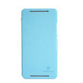 Nillkin Fresh Flip leather Case book Holster Cover Skin for HTC 8088 ONE Max - Blue