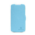 Nillkin Fresh Flip leather Case book Holster Cover Skin for HTC Desire 500 506E - Blue