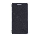 Nillkin Fresh Flip leather Case book Holster Cover Skin for Huawei Honor 3 - Black