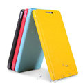 Nillkin Fresh Flip leather Case book Holster Cover Skin for Huawei Honor 3 - Blue