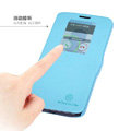 Nillkin Fresh Flip leather Case book Holster Cover Skin for LG Optimus G2 D802 - Blue