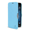 Nillkin Fresh Flip leather Case book Holster Cover Skin for Lenovo A850 - Blue