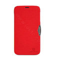Nillkin Fresh Flip leather Case book Holster Cover Skin for Lenovo A850 - Red