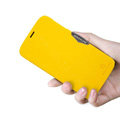 Nillkin Fresh Flip leather Case book Holster Cover Skin for Lenovo A850 - Yellow
